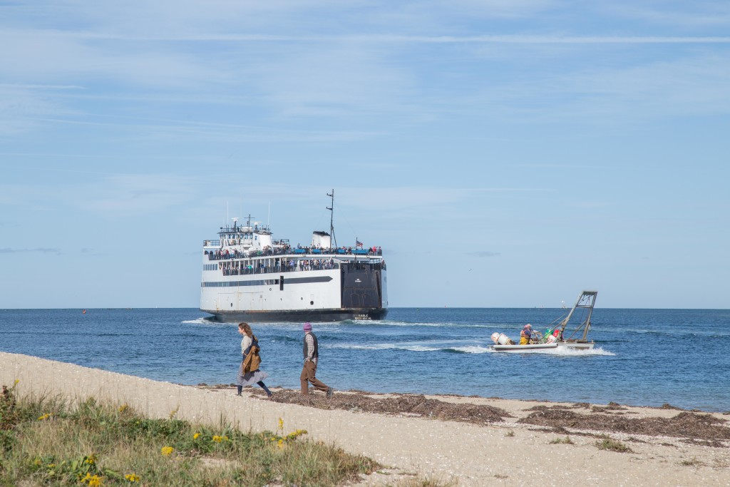 Nantucket Car Ferry and Brant Point