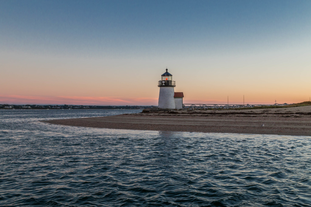 Nantucket Photography  Brant point sunset