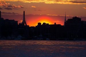 Boston Harbor Sunset (1 of 1).jpg